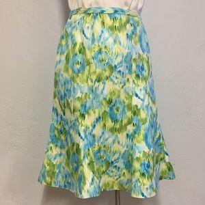 Talbots Silk Skirt, Plus Size